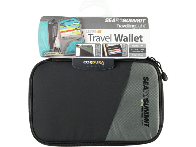 ce8575fba1c Sea to Summit Travel portemonnee RFID Medium grijs/zwart l Online ...